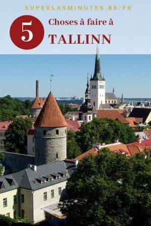 Choses à faire à Tallinn