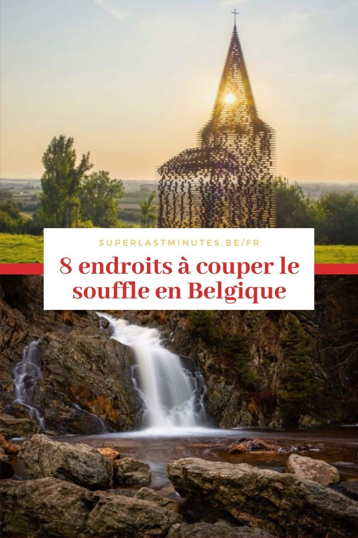 endroits à couper le souffle en belgique
